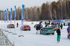 Mazda Ice Race 2014 in Siberia