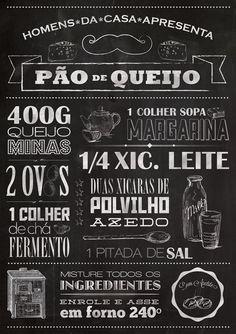 PÔSTER PÃO DE QUEIJO - HC Store