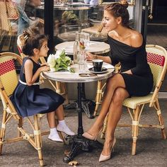When I Become A Mom. Mother Daughter Parisian Experience.