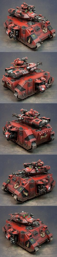 Baalm Predator, Blood Angels, Predator, Space Marines, Tank