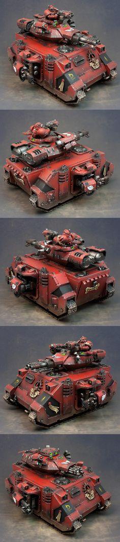 Baalm Predator, Blood Angels, Predator, Space Marines, Tank