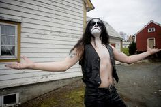 """Abbath - OS from the book """"True Norwegian Black Metal"""" (May 2008) by the photographer Peter Beste. Large HQ"""