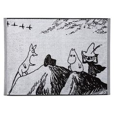 Finn Family Moomintroll hand towel 50 x 70 cm by Finlayson