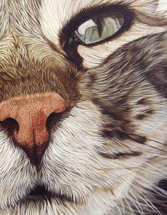 http://www.insightjewels.com Ester Curini painting Elfo da Treville detail: