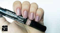 layla one step pen - 102 rosybrown One Step, Swatch, Nail Polish, Nails, Makeup, Beauty, Finger Nails, Make Up, Ongles