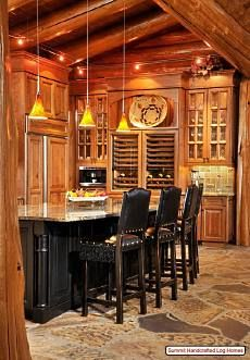 Now here are some good ideas for my dream kitchen and fireplace in my dream/fantasy home.
