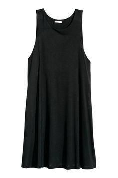 A-line dress - Black - Ladies | H&M GB 1