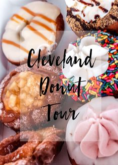 Cleveland Donut Tour - Best Donuts in Cleveland Cleveland Food, Cleveland Restaurants, Cleveland Rocks, Fractured Prune Donuts, Cravings, Cooking Recipes, Sweets, Tours