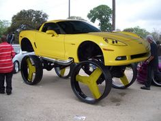 Pictures Of The Most Craziest Donk Cars And High Risers 3
