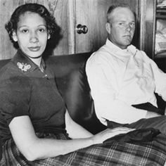 """Love conquered hate and ignorance. A great documentary, """"A Loving Story"""", was made about the couple. / Richard and Mildred Loving, an interracial couple living in Virginia in the 1950s and their landmark Supreme Court Case, Loving v. Virginia, that changed history."""