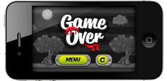 Game - Iphone by Sabrina Torchiana, via Behance