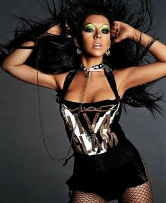 Christina Aguilera | 12 Iconic, Completely Over-Dressed Pop Stars