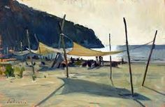 Image result for Sunlight paintings beach
