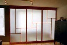 Traditional japanese Shoji panels