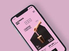 Ulichnaya Eda – Make Mobile Applications Mobile Web Design, App Ui Design, User Interface Design, Flat Design, Design Design, Minimal Web Design, Graphic Design, Ui Kit, App Design Inspiration