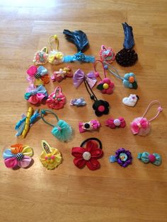 Wholesale Handmade 25 Hair Pieces Lot 7 #Handmade