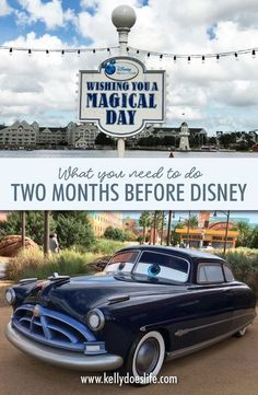 It's almost time for your Walt Disney World vacation! Here is a checklist of things you need to do when you are two months away from your trip. Once your countdown hits 60 days left, there are a few things you need to be sure to do to have a magical time! Disney World Vacation Planning, Walt Disney World Vacations, Disneyland Trip, Disney Planning, Disney World Resorts, Disney Travel, Road Trip To Disney, Disney Land, Disney Disney