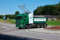 Scania, Volkswagen Dan Siemen Test Jalan Truck Listrik Dengan Pantograf Di Jerman Electric Power, Electric Cars, Power Cars, Cars And Motorcycles, Old School, Volkswagen, Transportation, College, Trucks