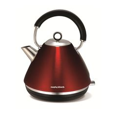 Morphy Richards Accents Traditional Kettle Red 102004 1.5 Litre