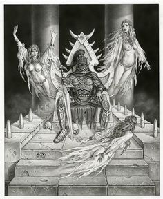 Lord Soth by Clyde Caldwell