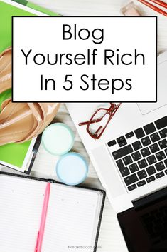Blog Yourself Rich in Five Steps | Natalie Bacon