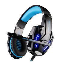 CADA G9000 Over-Ear 3.5mm Gaming Headset Headband Jogo Fones De Ouvido & Fones De Ouvido Com Microfone LED Light Para PC Laptop/PS4(China (Mainland))