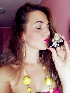 Bijoux handmade e Lolita Lempicka perfume! www.teanonsolomoda.com