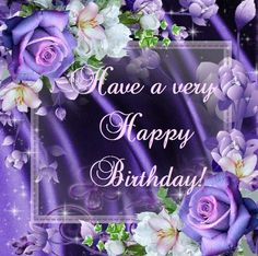 Rosey Birthday Wish rose purple birthday quotes birthday wishes happy birthday images Purple Happy Birthday, Happy Birthday For Her, Happy Birthday Celebration, Birthday Wishes Flowers, Happy Birthday Wishes Images, Happy Birthday Greetings, Birthday Quotes, Birthday Ideas, Birthday Typography