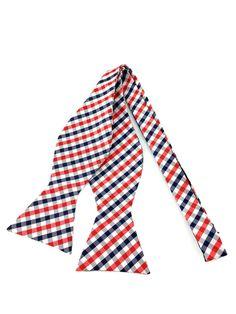 White Red Black Gingham Self Tied Bowtie Black And White Colour, Red Black, Ties Online, Formal Tie, Bowties, Black Suits, Wedding Men, Little Red, Groomsmen