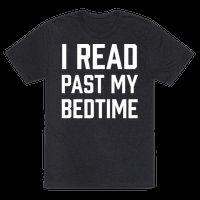 I Read Past My Bedtime Tee