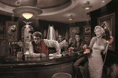 "PIN57012 ""Java Dreams -Marilyn Monroe, James Dean, Elvis Presley"" (24 X 36)"