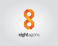 eightagons Logo design - Strong logo brand :) Price $550.00