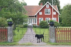 Lantliv i Norregård: Fredag.....:)) Idea for back of house