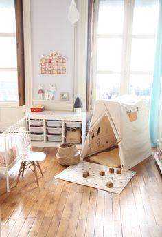 """zü: BudtzBendix nouveauté la tente """"changingTOWER"""" , réalisée en coton organique. Organic cotton play tent."""