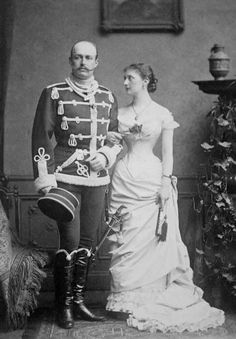 Their Highnesses Duke and Duchess Paul Friedrich of Mecklenburg. Married: May 5…