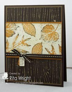 Rita's Creations -- (love that woodgrain)