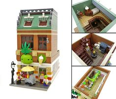 Green Pineapple fro-yo shop by Nannan Z., via Flickr