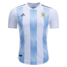 fec3aa0ad adidas Argentina Authentic Home Jersey 2018. Argentina World Cup ...