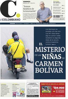 #PortadaEC Domingo, 7 de septiembre de 2014-.