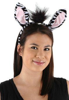 Zebra costume headband