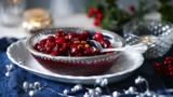 For best results make this simple cranberry sauce a few days in advance to let the flavours mingle. You can also add a little port, if liked. Chutney Recipes, Sauce Recipes, Gourmet Recipes, Cranberry Cheesecake, Cranberry Sauce, Xmas Food, Christmas Cooking, New Year's Cake, Thing 1