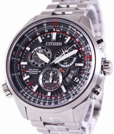 """While the company has yet to make a strap big enough to fit around a person's chest, that hasn't stopped Citizen watches from being """"close to the hearts of Good Citizen, Citizen Eco, Perpetual Calendar, Radio Control, Watch Sale, Watches Online, Chronograph, Watches For Men, Citizen Watches"""