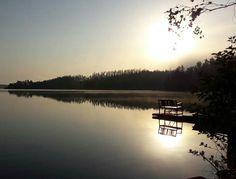 Syysaamu #syksy #Puula #lake #autumn #morning #Hirvensalmi #Suomi #Finland