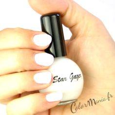 Vernis à Ongles Blanc Neige - Stargazer   Color-Mania (http://www.color-mania.fr/boutique/vernis-a-ongles-blanc-neige-nail-art/)