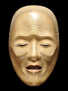 noh Japanese Noh Mask, Sculpture Art, Sculptures, Japanese Characters, Masks Art, Buddhist Art, Irezumi, Ancient Art, Asian Art