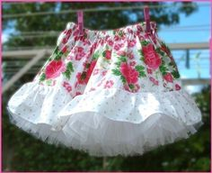 The perfect skirt for twirling!