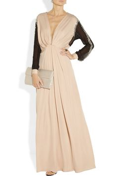 654cfb1c21bc By Malene Birger - Norah crystal-embellished silk and chiffon gown