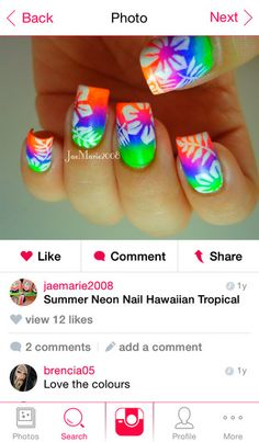 Download the FREE Nail Art Gallery app today! http://nailartgalleryapp.com