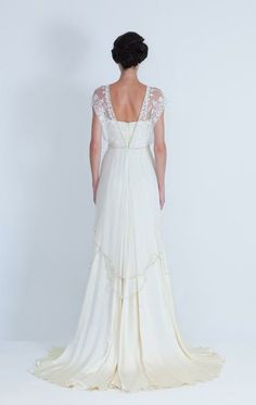 Catherine Deane Lita wedding dress (back)