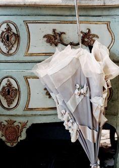 WHITE SAND. umbrella by Alexandra Sojfer Paris